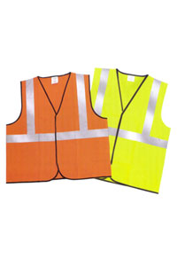 Custom Screen Printed Safety Vests