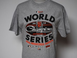 2012 SF Giants World Series Champions Tee